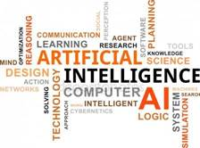 Word cloud - artificial intelligence Stock Illustration